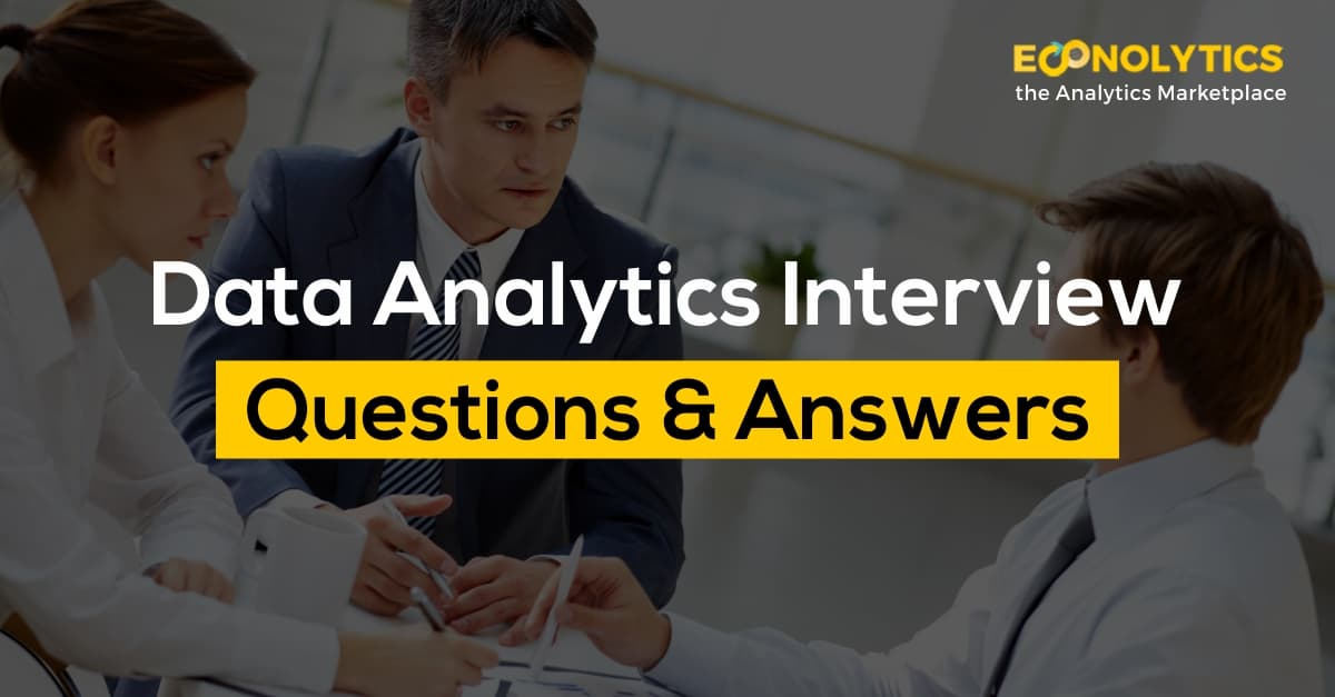 Top Data Analyst/Scientist Interview Questions and Answers
