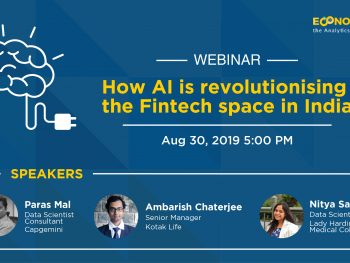 "Webinar on ""How AI is Revolutionizing the Fin-tech Space in India"""